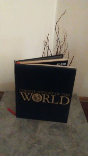 Concise history of the world hardcover blue leather for Sale in Cleveland, OH