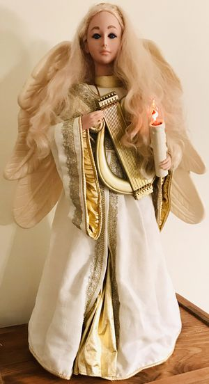 """VINTAGE 1995 Moveable Lighted 32"""" Christmas Angel for Sale in Burke, VA"""