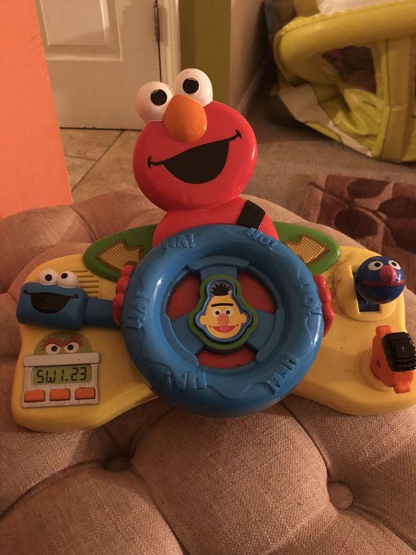 Elmo steering wheel toy for Sale in Bloomfield Hills, MI - OfferUp