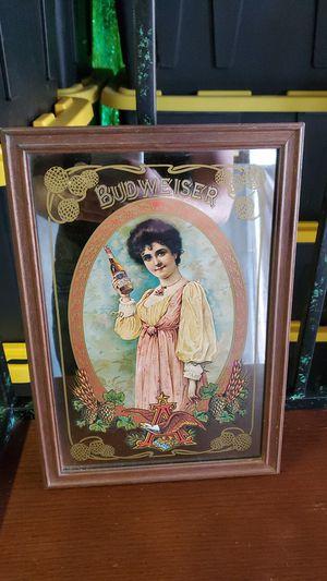 Photo Vintage 1978 Budweiser mirror