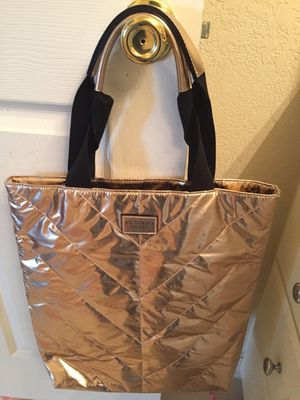 Victoria's Secret Rose gold Tote bag for Sale in Sudley Springs, VA