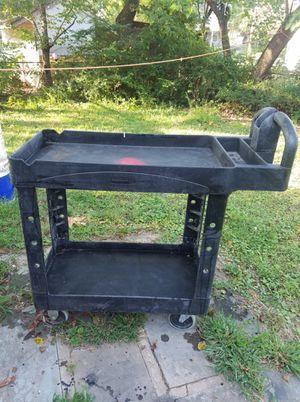 Black metal truck soddle for Sale in Manassas Park, VA