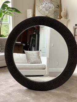 """Bergman mirror 54""""in diameter Thumbnail"""