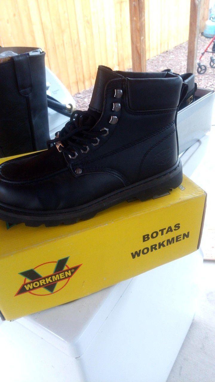 Zapatos de trabajo nuevos talla 8 no casco.