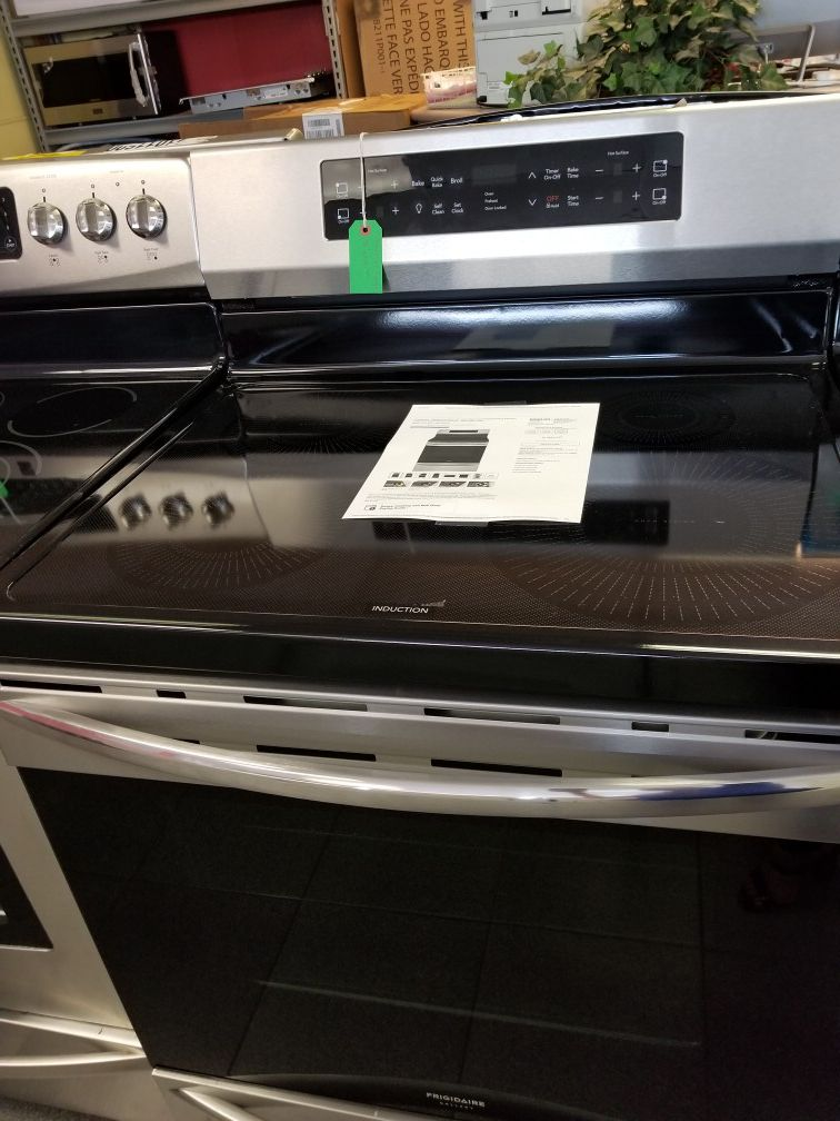 Frigidaire gallery stainless steel induction range