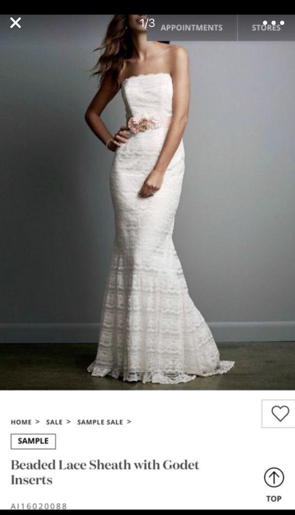 Size 0 Wedding Gown For Sale In Virginia Beach Va Offerup