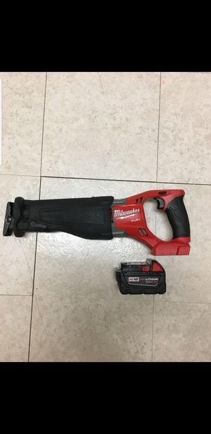 Sawzall milwuakee m18 fuel brusshless con bateria 5.0 for Sale in Springfield, VA