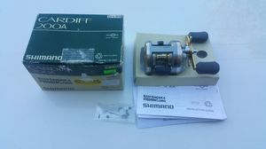 Shimano Cardiff 200A fishing reel for Sale in Portland, OR