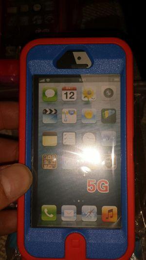 IPhone 5g case, orange, blue for Sale in Murfreesboro, TN