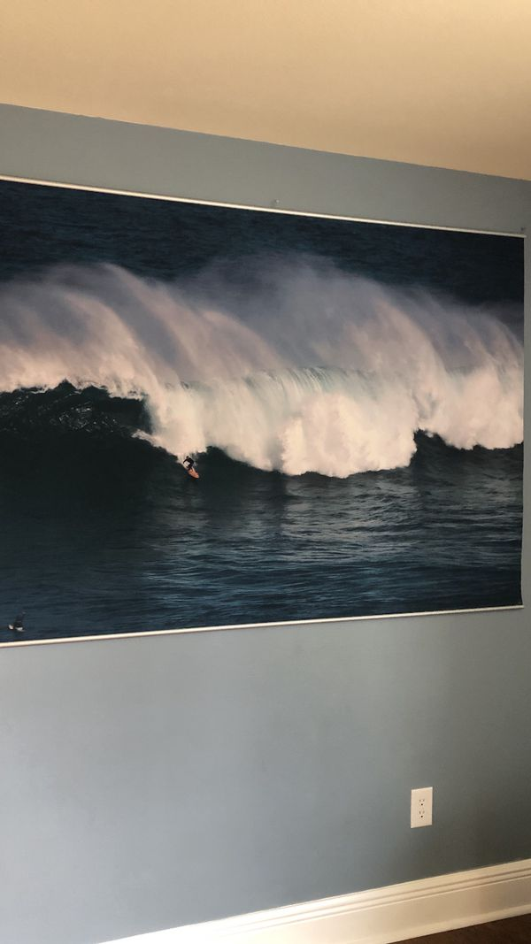 Pottery Barn Surfing Mural For Sale In New Smyrna Beach