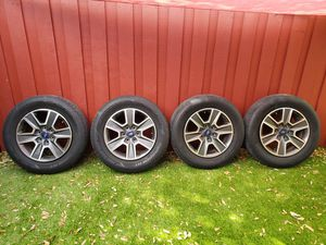 Photo Good tires and wheels 265/60r18 ford f150 2017