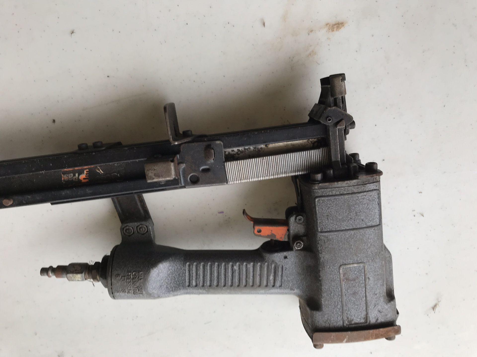 Staple air gun