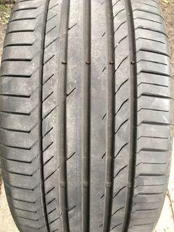 Single Used Tire 295-40-21 Thumbnail