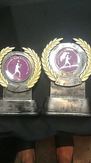 1st and 2nd place trophies for Sale in Los Angeles, CA