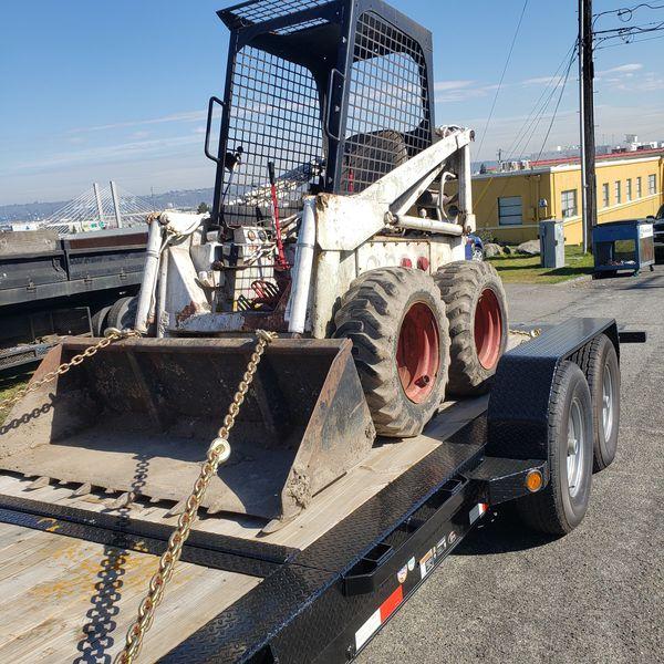Bobcat skid steer 610 loader  for Sale in Tacoma, WA - OfferUp