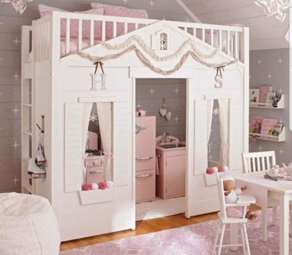 Pottery Barn Kids Playhouse Loft Bed For Sale In Everett