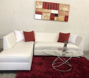 White Sectional Sofa for Sale in Miami Springs, FL