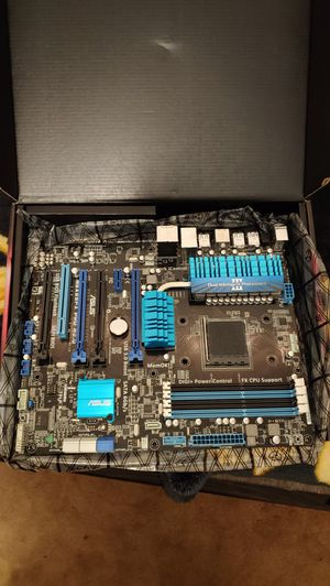 ASUS M5A99FX PRO R2.0 AM3 AM3+ Gaming Motherboard for Sale in Gardena, CA