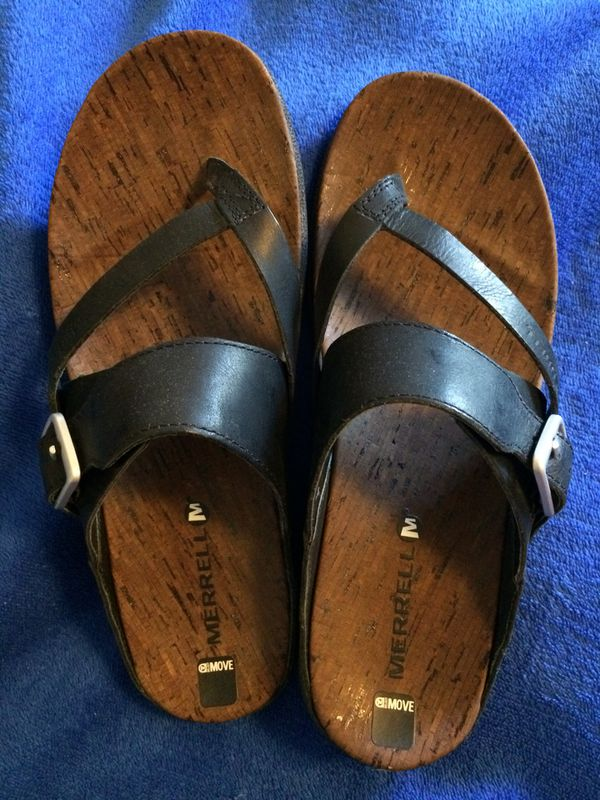 1ab59cecb747 Merrell Women s Leather Sandals. Size 8. LOWERED PRICE for Sale in ...