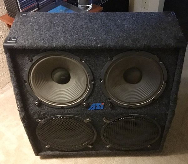 Quantum ASi 4x12 Guitar Cabinet Loud Speakers  for Sale in Portland, OR -  OfferUp