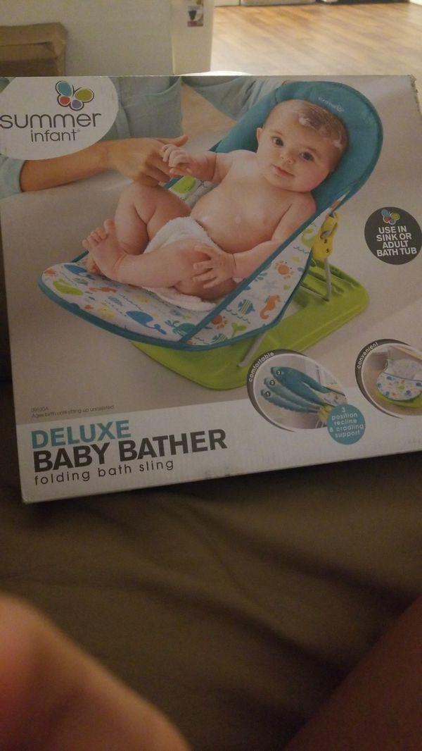 Summer infant baby bath for Sale in Las Vegas, NV - OfferUp