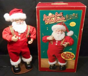 "Dancing Singing Rock n Roll Santa (18"") for Sale in Silver Spring, MD"