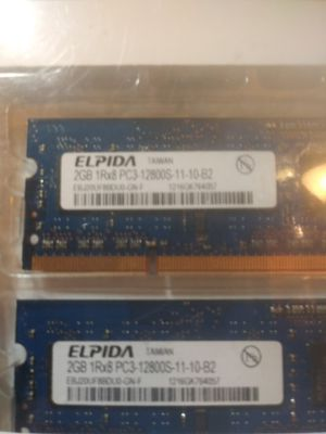 Lot of 2 Elpida memory = 4GB for Sale in St. Louis, MO