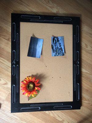 Cork pin board for Sale in Washington, DC