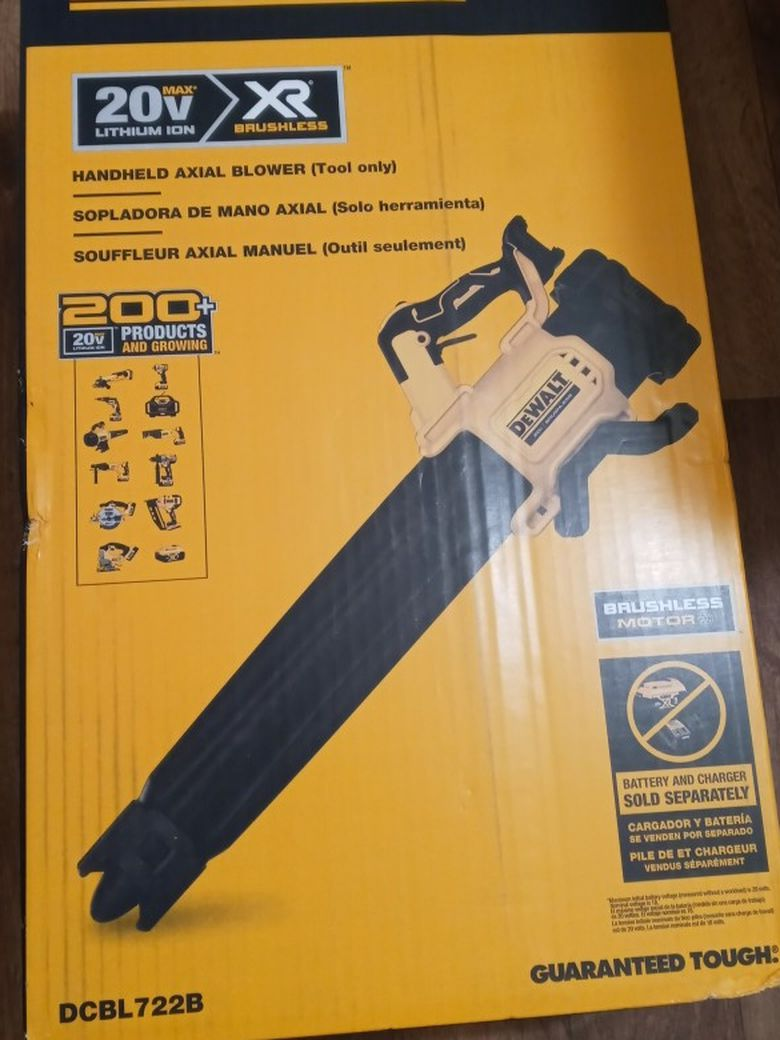 Sopladora De Walt Nueva Xr 20 Volts Tool Only