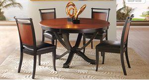 Dark cherry wood dining room set for 4! for Sale in Crewe, VA