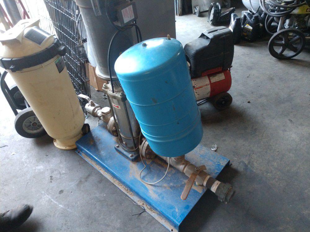 Aquavar pool pump (for parts)