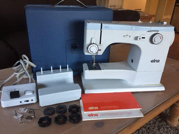 Elna SU Super 40c Sewing Machine Complete For Sale In Milpitas CA Beauteous Elna Su Sewing Machine