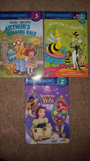 Step Into Reading - 3 Books for Sale in Atlanta, GA