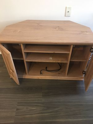 Beautiful Wooden TV Stand for Sale in Arlington, VA