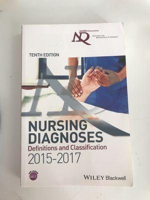 NANDA book for nurses 10 Ed. 2015-2017 for Sale in Alexandria, VA