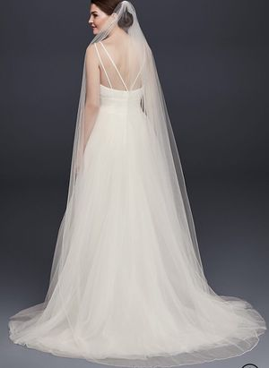 Ivory Chapel Length Veil PLUS FREE GIFT! for Sale in Irvine, CA
