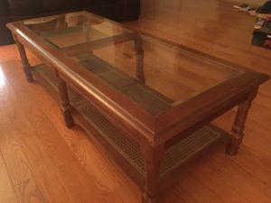 Glass Coffee Table EXCELLENT CONDITION! for Sale in Oakton, VA