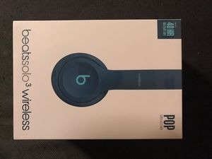 Beats Solo 3 Wireless headphones BRAND NEW UNOPENED!! for Sale in Kissimmee, FL