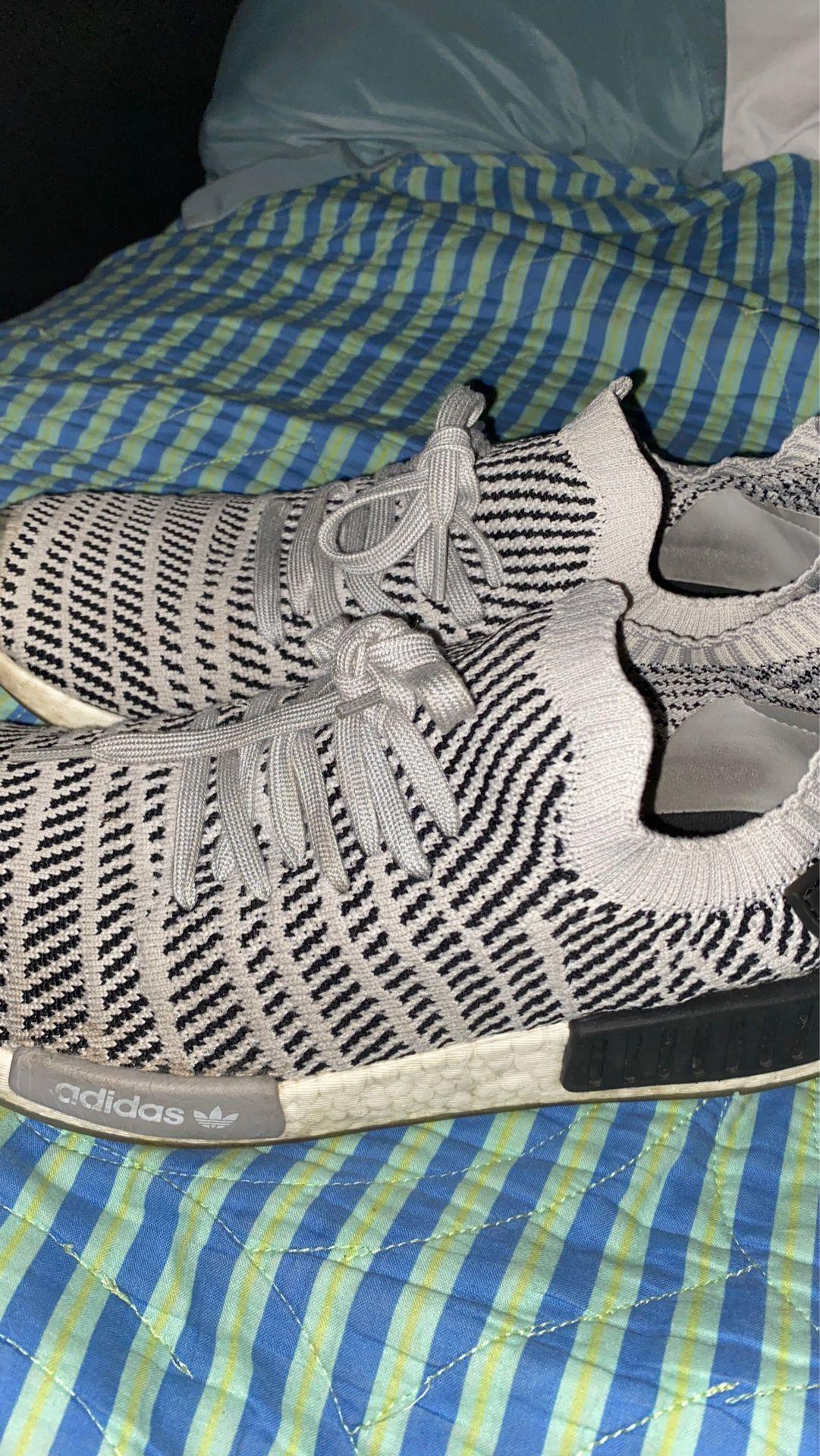 Adidas NMD_R1 Grey primeknit Size 11