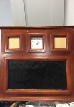 Picture frame, clock, chalkboard - all in one! for Sale in Washington, DC