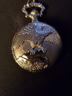 Silver Pocket Watch Thumbnail