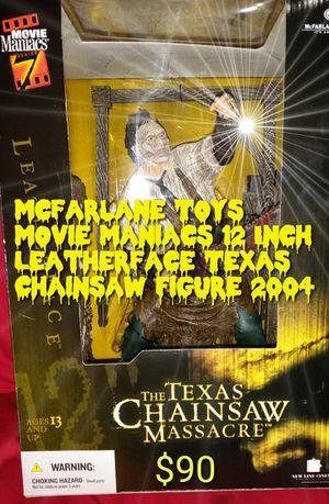 "12"" LeatherFace Movie Maniacs for Sale in Phoenix, AZ"