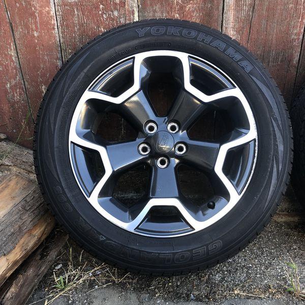 Subaru Xv Crosstrek Wheels And Tires For Sale In South San Francisco Ca Offerup