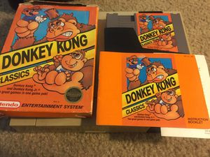 Donkey Kong Classics Complete NES for Sale in Denver, CO