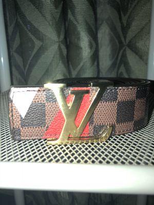 Louis Vuitton Damier America World Cup Belt for Sale in Pomfret, MD