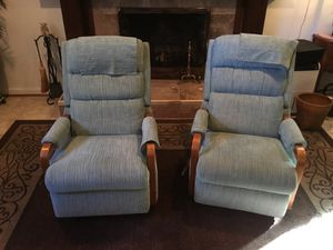 Reclining chairs (200 each) for Sale in Falls Church, VA