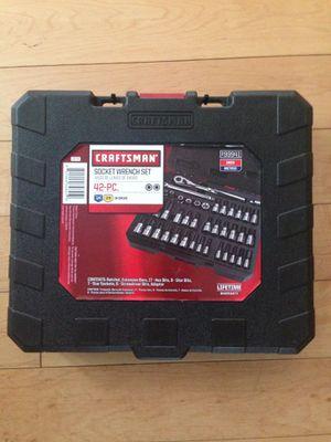 New socket wrench set 42pcs for Sale in Manassas, VA