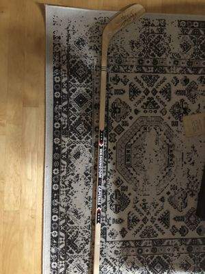 Signed Braden Holtby Hockey Stick for Sale in Reston, VA