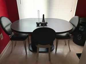 Kitchen table and chairs MUST PICK UP for Sale in Damascus, MD