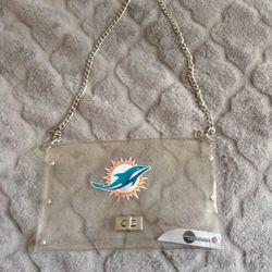 Purse/ handbag women's Miami Dolphins Thumbnail